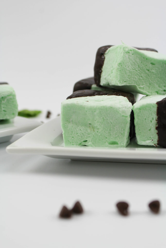 Mint Chocolate Marshmallows