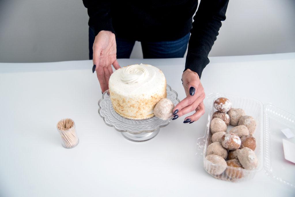 Cake Hacks: Donut Hole Cake