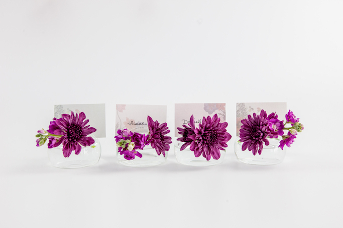 Printable Floral Place Cards