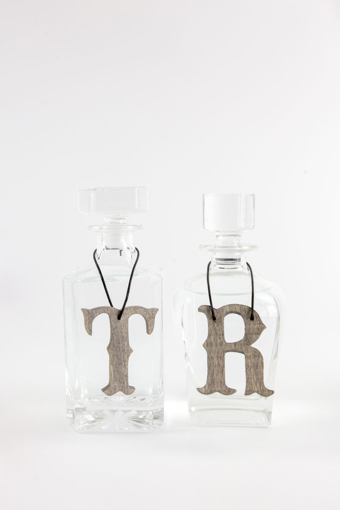 DIY Decanter Tags
